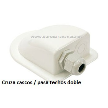 CRUZA CASCOS doble / PASA TECHOS doble