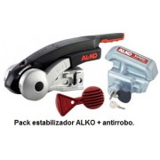 ESTABILIZADOR ALKO AKS 3004 + KIT SEGURIDAD ANTIRROBO