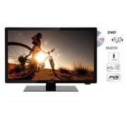 "TELEVISOR LED + DVD HD1080 24"" EQUINOXE"
