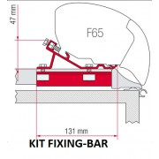 Soportes F65 para FIXING-BAR