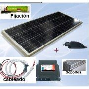 Kit solar 110 wat. Power Lib